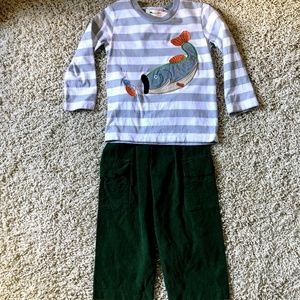 Boys Fishing Outfit